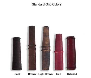 Grip color choices