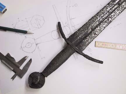 E&F Horster Solingen Sword from??